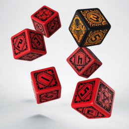 Warmachine Khador Faction D6 Dice (6)