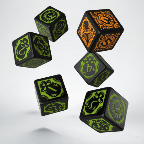 Warmachine Cryx Faction D6 Dice (6)