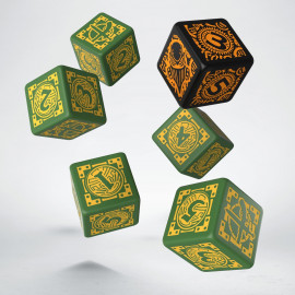 Warmachine Mercenaries Faction D6 Dice (6)