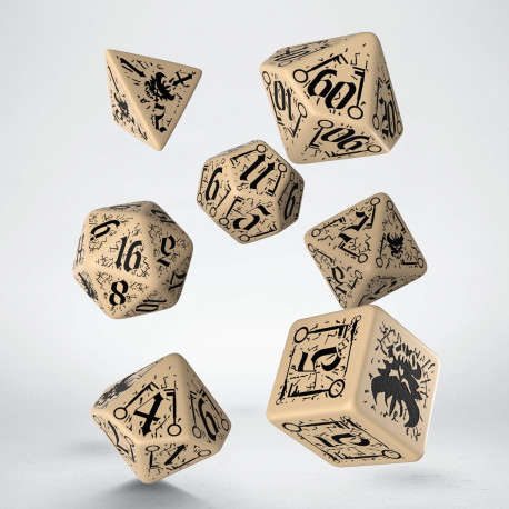 Pathfinder Council of Thieves Dice Set (7)