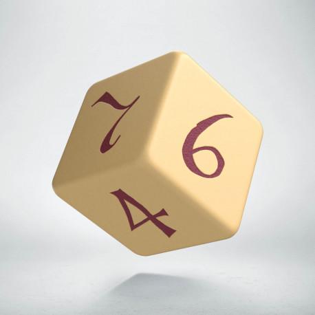 K6 Klasyczna Beżowo-bordowa (1)
