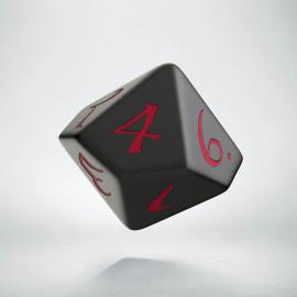 D10 Classic Black & red Die (1)