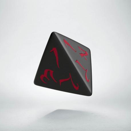D4 Classic Black & red Die (1)