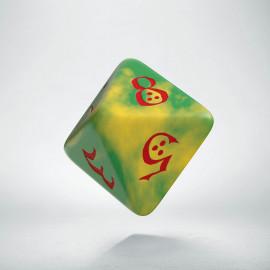 K8 Klasyczna Zielono-żółto-czerwona