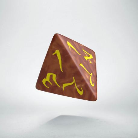 K4 Klasyczna Karmelowo-żółta