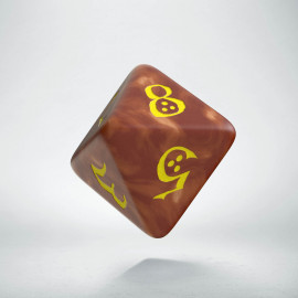 D8 Classic Caramel & yellow Die (1)
