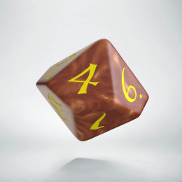 D10 Classic Caramel & yellow Die (1)