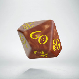 D100 Classic Caramel & yellow Die (1)