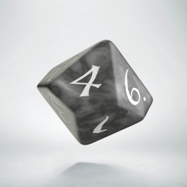 D10 Classic Smoky & white Die (1)