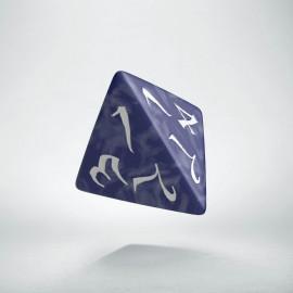 D4 Classic Cobalt & white Die (1)