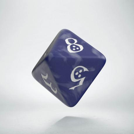 D8 Classic Cobalt & white Die (1)