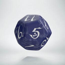 D12 Classic Cobalt & white Die (1)