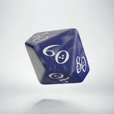 D100 Classic Cobalt & white Die (1)