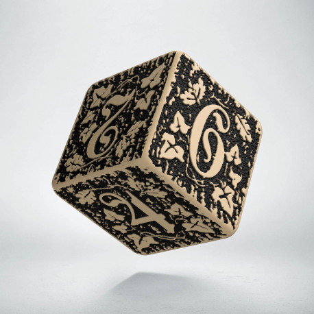 D6 Forest Beige-black die