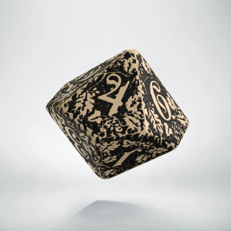 D10 Forest Beige-black die