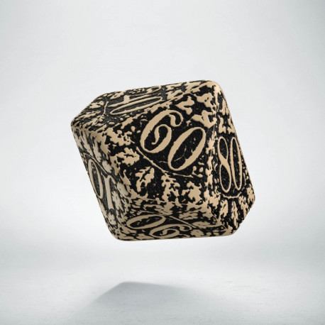 K100 Leśna Beżowo-czarna