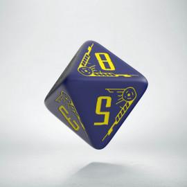 K8 Galaktyczne granatowo - żółte
