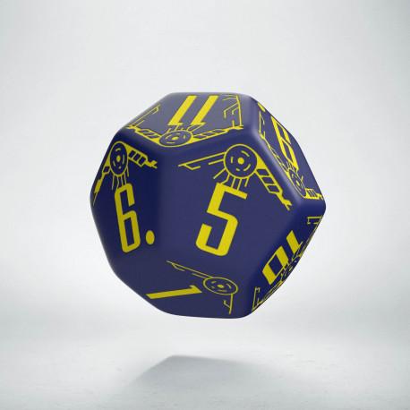 K12 Galaktyczne granatowo - żółte
