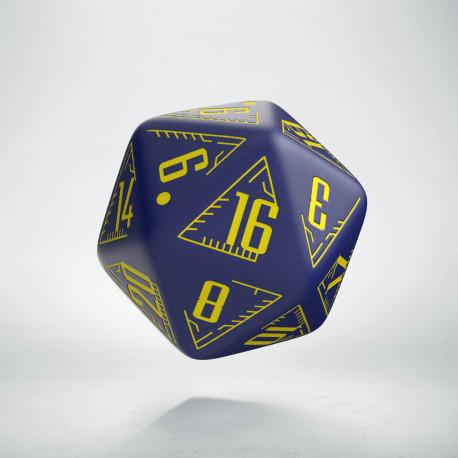 K20 Galaktyczne granatowo - żółte