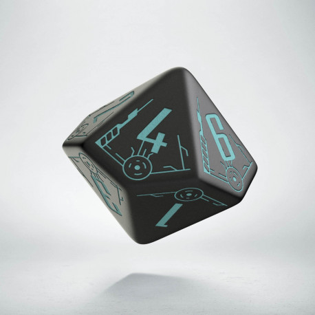 K10 Kość Galaktyczna Czarno-niebieska