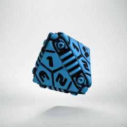 D4 Tech Dice Blue - black die