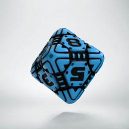 D8 Tech Dice Blue - black die