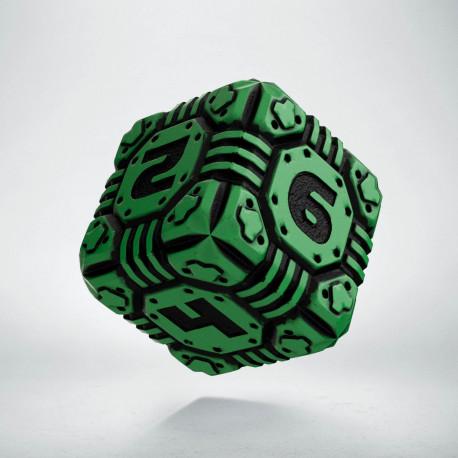 D6 Tech Die Green & black