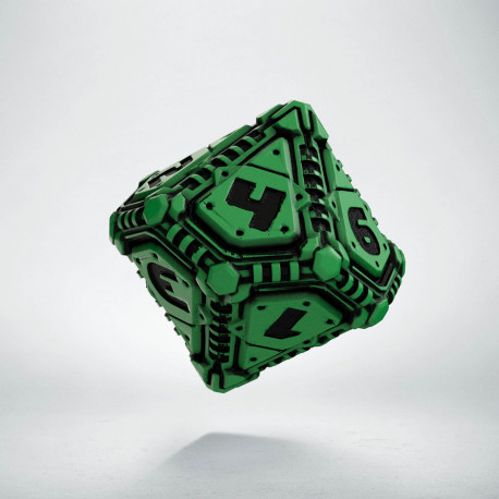 D10 Tech Die Green & black