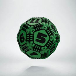 D12 Tech Green & black Die (1)