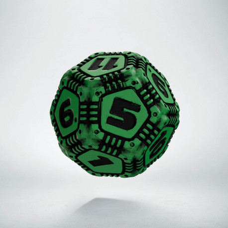 D12 Tech Die Green & black