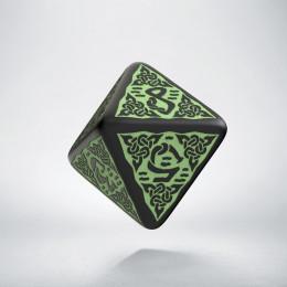 K8 Celtycka 3D Czarno-zielona