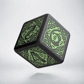 K6 Celtycka 3D Czarno-zielona