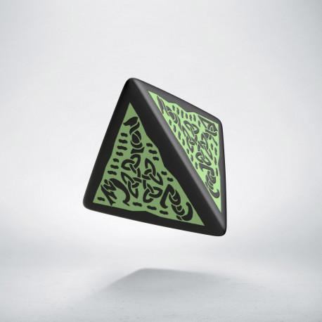 K4 Celtycka 3D Czarno-zielona