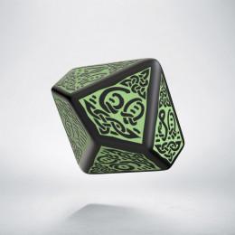 K100 Celtycka 3D Czarno-zielona