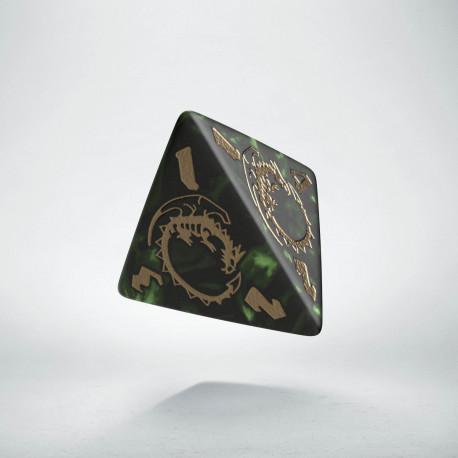 K4 Smocza Butelkowo zielono-złota (1)