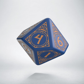 D10 Viking Navy Blue & peach Die [unusual] (1)