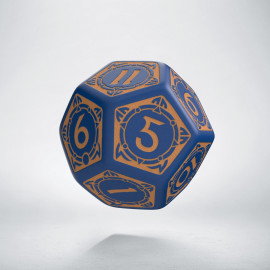 D12 Viking Navy Blue & peach Die [unusual] (1)