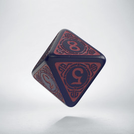 D8 Viking Ghost-blue & burgundy Die [unusual] (1)