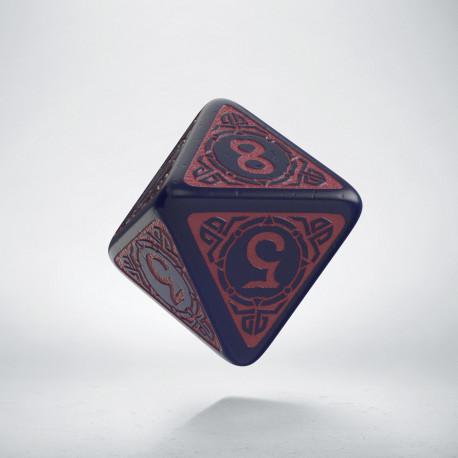 D8 Viking Ghost-blue & burgundy Die [unusual] (1)