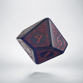 D10 Viking Ghost-blue & burgundy Die [unusual] (1)