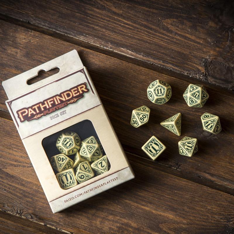 Pathfinder RPG Playtest Dice set - SPAT96