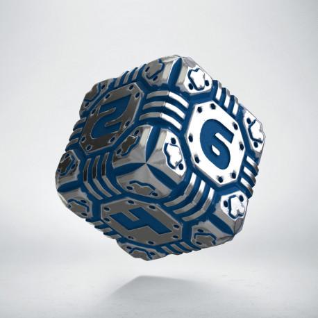 D6 Metal & blue Tech Die (1)