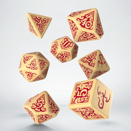 Call of Cthulhu Masks of Nyarlathotep Dice set (7)