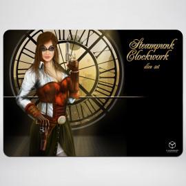 Steampunk Clockwork Gaming Mat 35x50cm