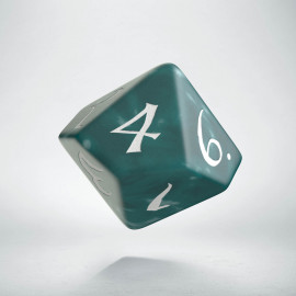 D10 Classic Stormy & white Die (1)