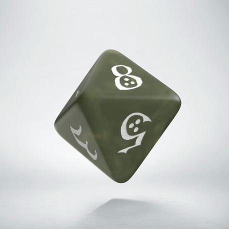 K8 Klasyczna Oliwkowo-biała (1)