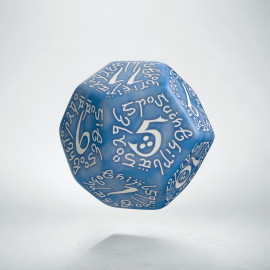 D12 Elvish Glacier & white Die (1)
