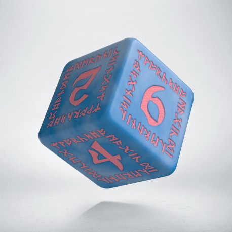 SRUN1S - Runic Glacier & pink Dice Set (7)