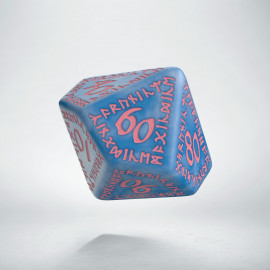 D100 Runic Glacier & pink Die (1)