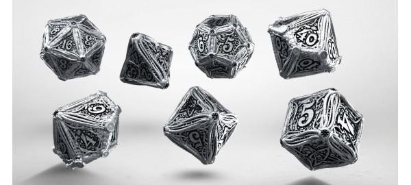 Kości RPG Metalowe Call of Cthulhu (7)